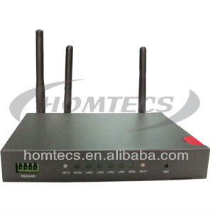 high power wifi wireless router Industrial Wireless 3G 4-Port WCDMA-WCDMA Ethernet Router with Dual SIM, RS232 & Wi-Fi H50series