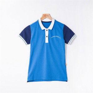 OEM unisex T shirt school uniform design with picture