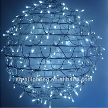round ball motif led christmas light