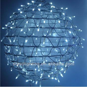 New Shape ! Round Ball Motif Led Christmas Light