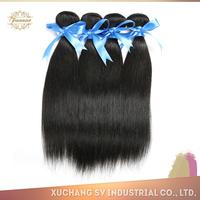 Off black silky straight grade AAAAAA brazilian hair extension in new york, wholesale 100% human tengda hair extension