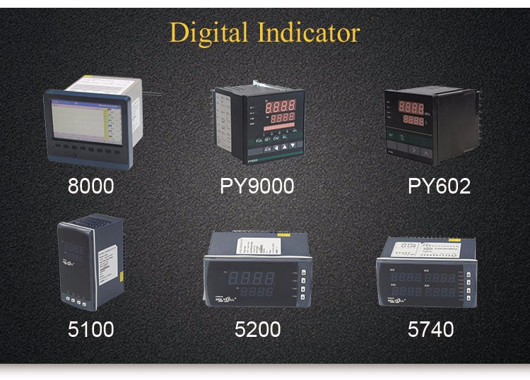 Holykell factory Price PT100 Dual Display Digital Temperature And Pressure Controller