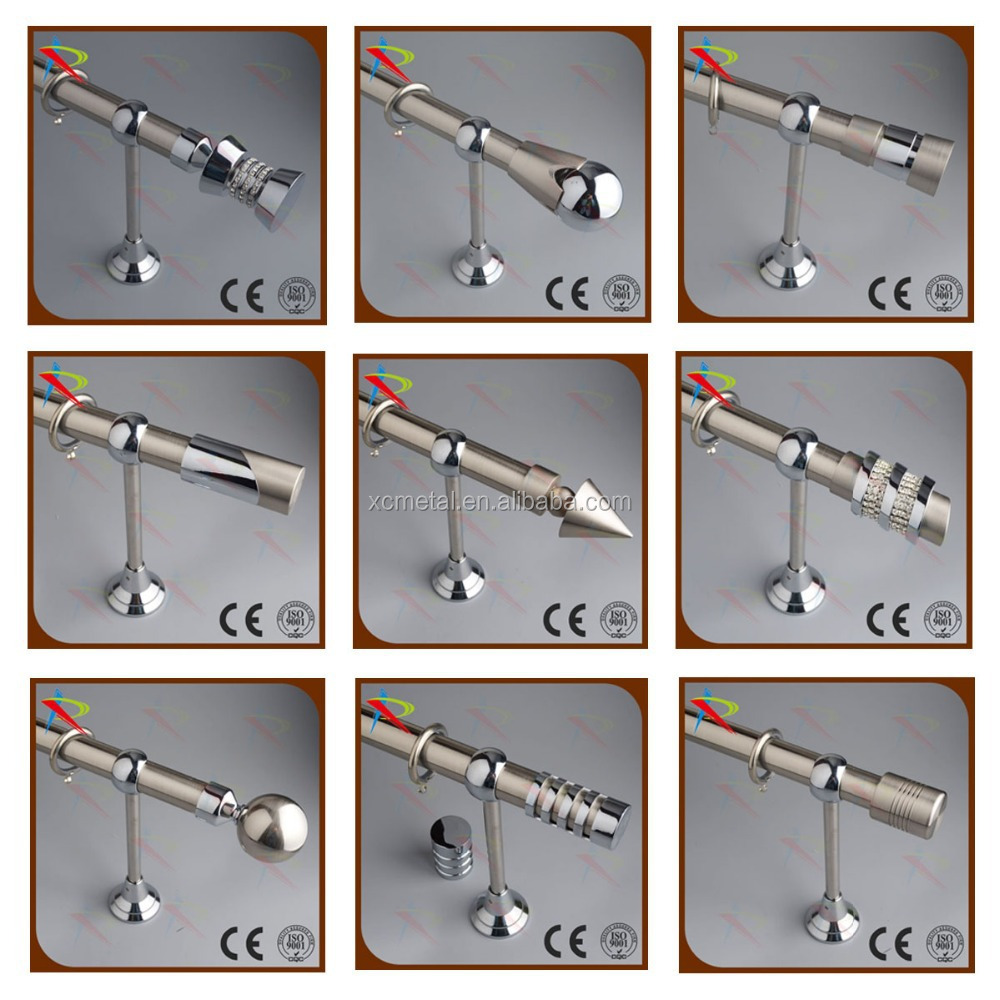 Strong Function Well Drapery Curtain Rod Ends Finials Caps