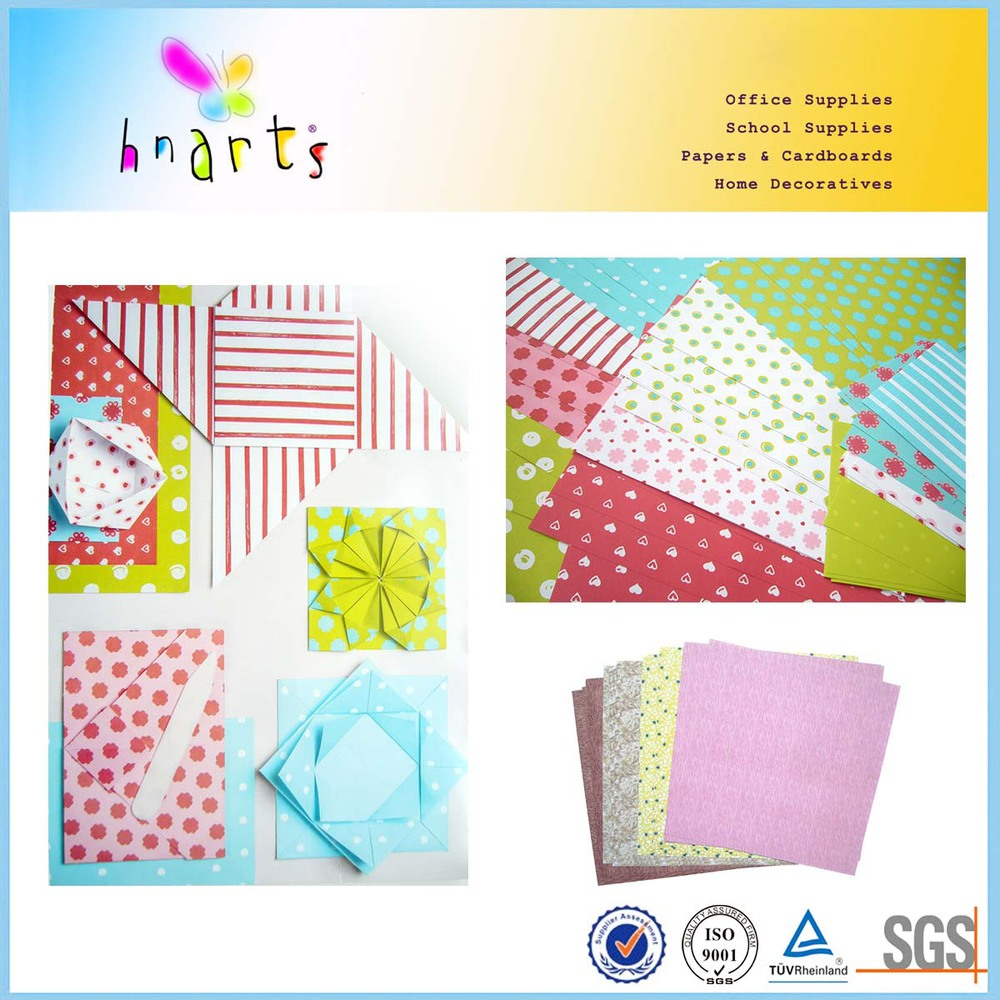 Incridible Handicraft Paper At 80gsm Custom Origami Paper For Craft,color Printing Origami Paper