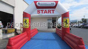 New Design Inflatable Arch, Start Arch with Separation Leg Supports Great for Running Race
