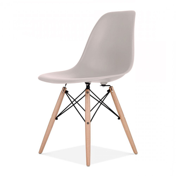 UrbanMod Mid Century Modern Style Chairs By Urban Easy Assemble Furniture  With Ergoflex Abs Plastic