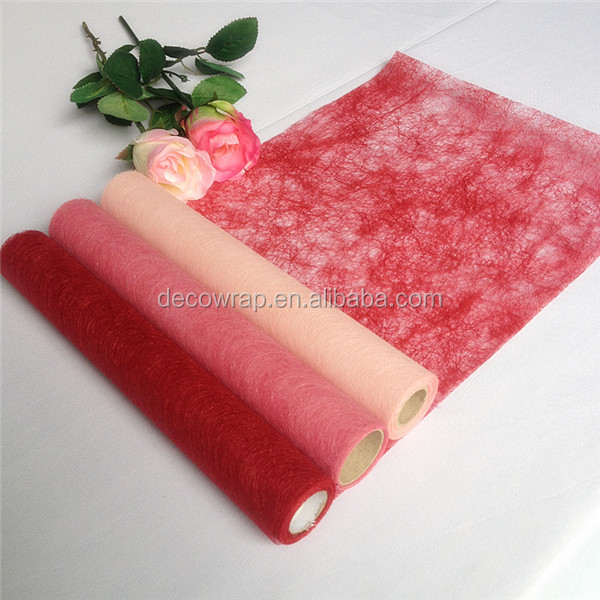 Raffia Fabric for Chair cover, Flower and Gift Package