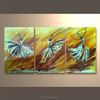 wholesale popular modern home decoration arts group metal wall art