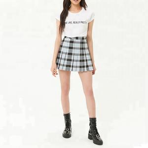 e129d33278 Pleated Plaid Mini Skirt, Pleated Plaid Mini Skirt Suppliers and  Manufacturers at Alibaba.com