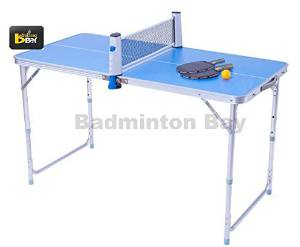 Abroz Mini Table Tennis Ping Pong Table For Kids and Family Outdoor or Indoor Small Spaces