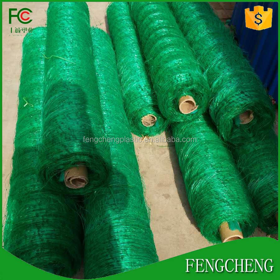 green extruding polypropylene climbing plants support mesh