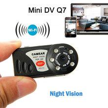 WiFi camera Mini DV Wireless IP Camera camcorder Video Record wifi HD pocket-size mini camera Remote Phone Infrared Night Vision