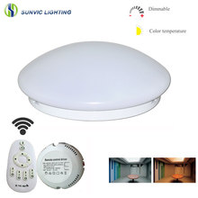 Alibaba Best Suppliers normal and motion sensor 12w 18w 24w Round Surface mounted LED Ceiling Light