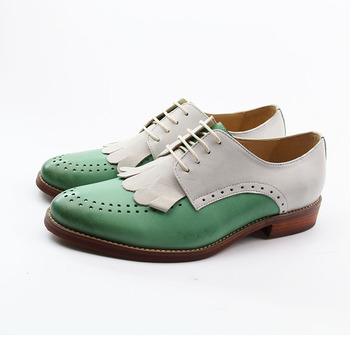 dd6aef4dc5ca Ladies Oxfords Lace Up Yinzo Women Leather Brogues Shoes - Buy ...