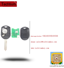 part number:CWTWB1U793 5912560 164-R8070 auto car keys remote with chip 4D63 433Mhz 4 buttons with round logo for ford key
