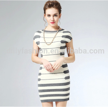 88829e7a1cbc lady short sleeve long sweater fashion design knitted women long tight sexy  t-shirt dress