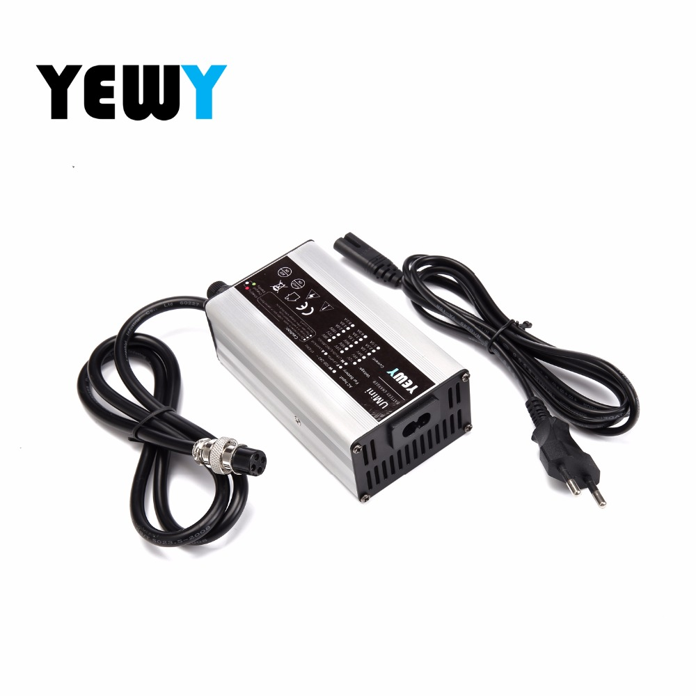 36 volt 2amp electric skateboards Battery Charger 36v 42v 2.5a lithium li-ion lipo charger