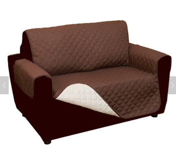 Loveseat Stretch Knitting Sofa Cover
