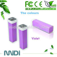 2015 Popular business gifts, hot sale 2600mah perfume lipstick power bank with blister box packaging