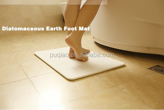 Bathroom Floor Mats Diatomaceous Earth Mat With Raw material