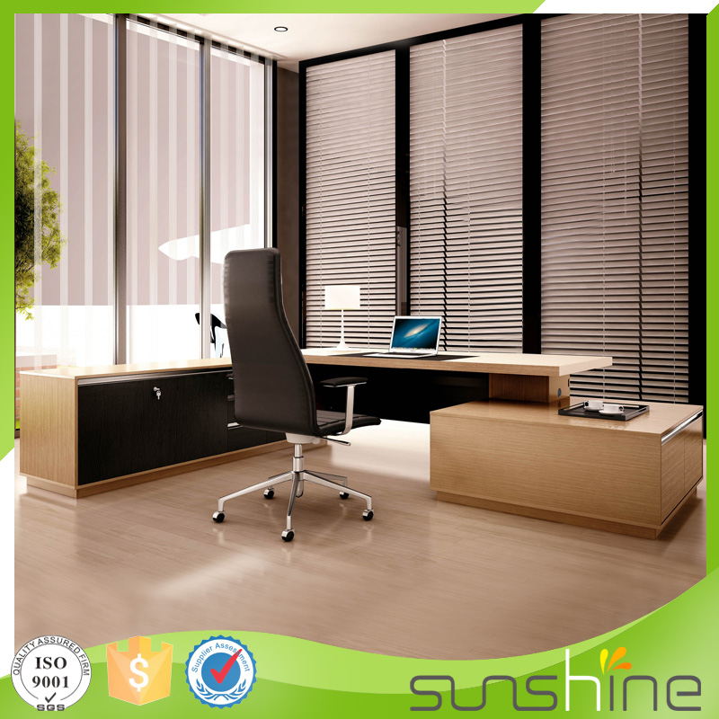 Cost price Trade Assurance l-shaped office/executive desk