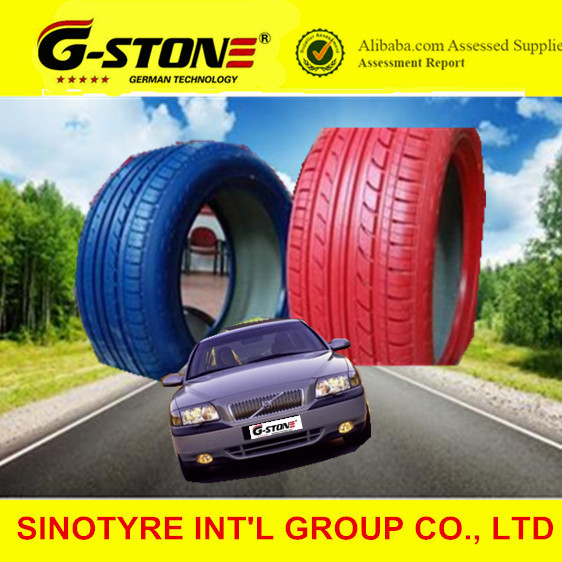 China coloured cheap car tyres 225/45r17