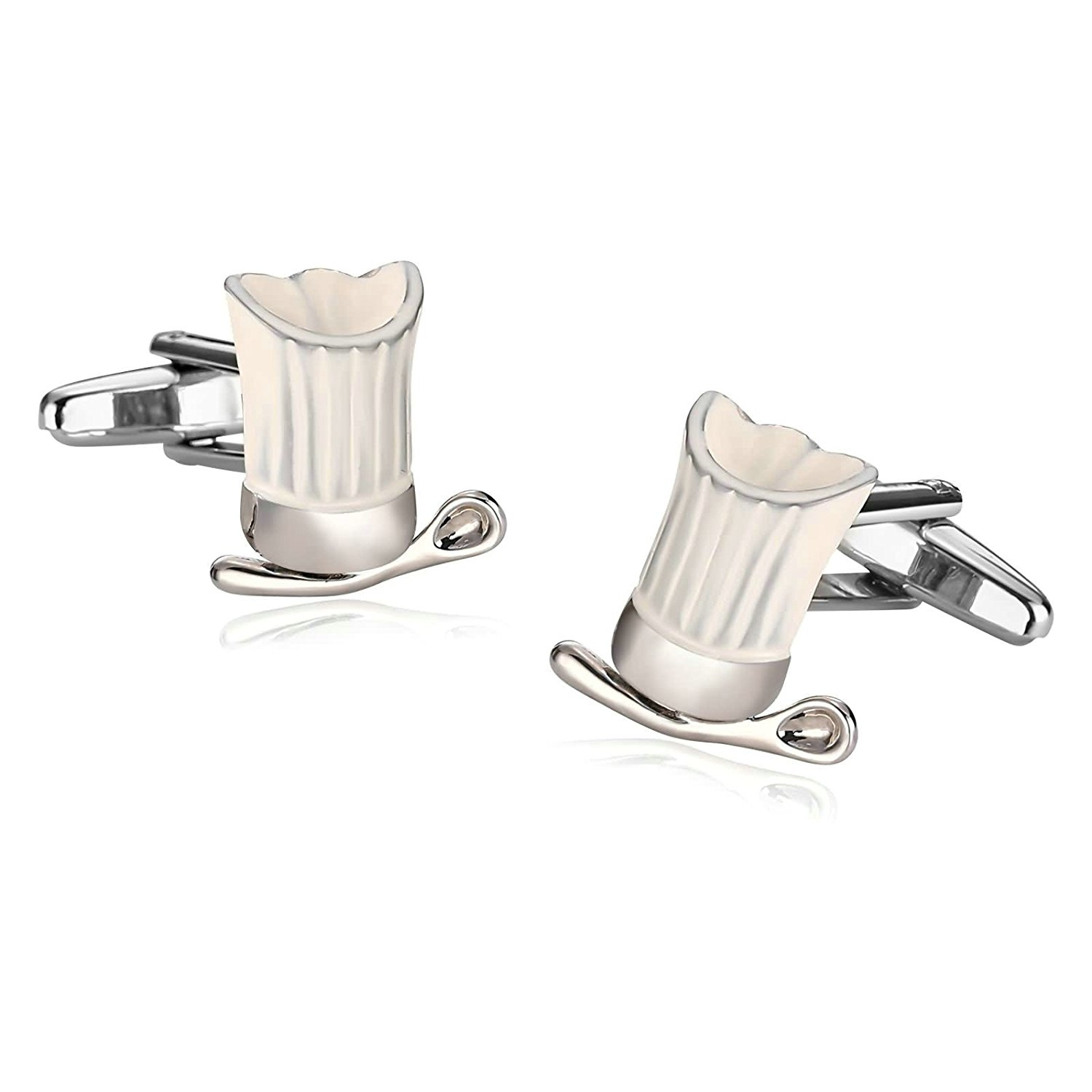 Aooaz Cufflinks for Men Stainless Steel [4 Style] Mens Cufflinks 2Pcs, Novelty Shirt Cufflinks, Size X