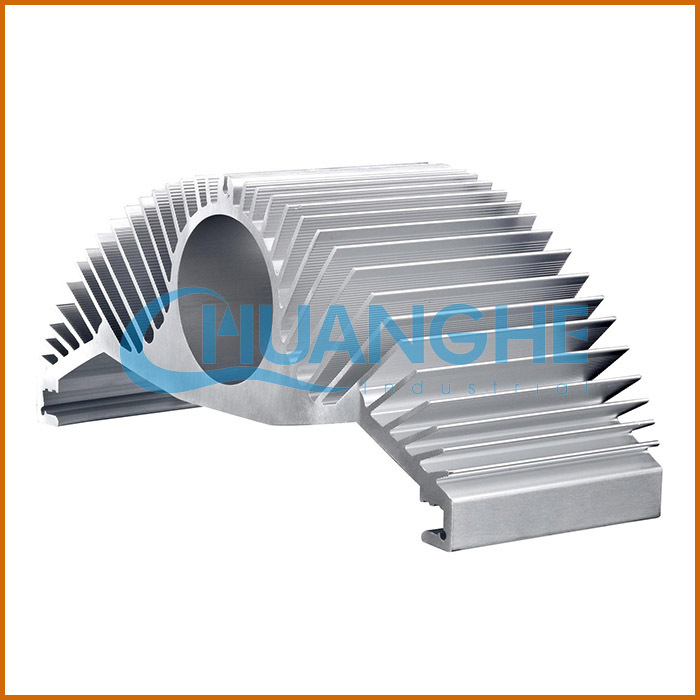 Alibaba China Aluminum Zipper Fin Heat Sink