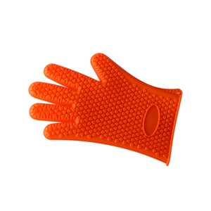 Wholesale BBQ heat protective gloves household oven heat protective gloves oven gloves