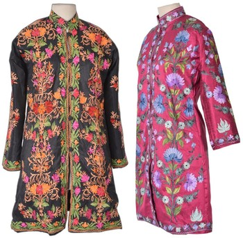 Kashmir Long Fine Embroidery Jackets
