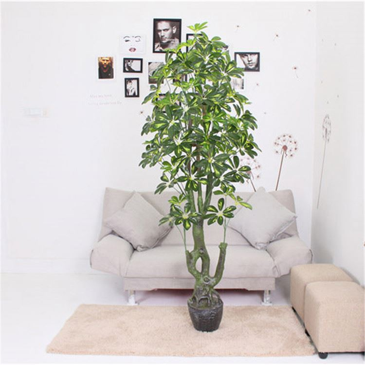 Hot sell cheap 1.6 m high home decorative eco-friendly plastic artificial tree,artificial plant
