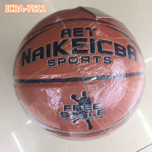 Rubber Size 7 Balls Basketball Wholesale standard size of basketball board