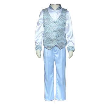 Formal Primary Children Novelty Patent Satin Waistcoat Kids School Uniforms Vest