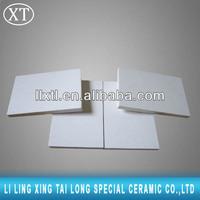 High hardness White color acid proof ceramic tile,micro porous ceramic filter media