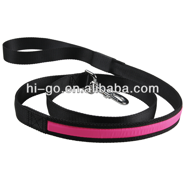2014 best seller pet item wholesale flashing pet leash