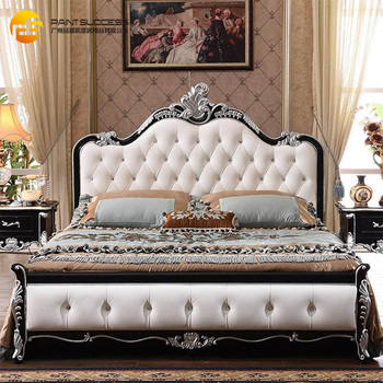 Custom American Style Wooden King Beds Chesterfield Bedroom Furniture Set  Classic Design Wooden Bed Design Furniture - Buy Wooden Leather Bed,Double  ...