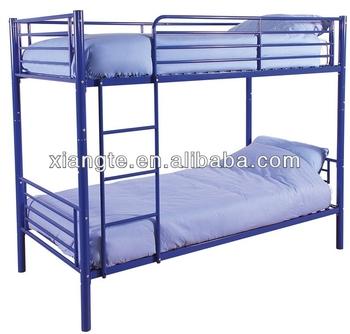 School dormitory metal bunk bed cheap double deck bed for Cheap double deck bed