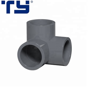 High Pressure System UPVC Pipe Fitting Three Way Elbow Pipe Fittings