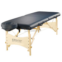 "Master Massage 25"" massage table portable lightweight wood foldable massage bed beauty table"