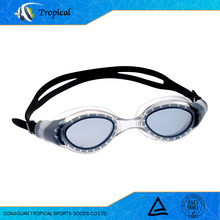 High quality wholesale uv silicone swimming goggles