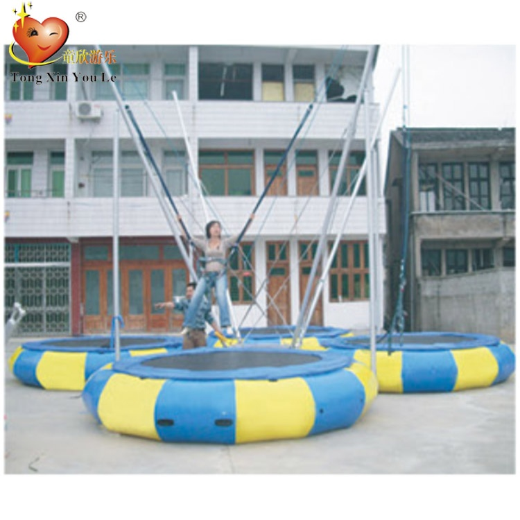 Outdoor Games Gymnastic Bungee Trampoline Jumping for Sale for Adults
