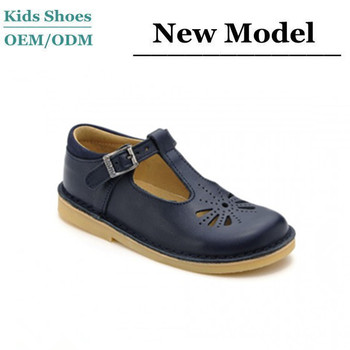 Custom Made Baby Girl Booties Guangzhou Shoes Factory OEM Girls Black  Leather School Shoes 0dd811405