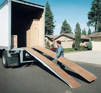 """Truck Ramp - BFAL Series; Overall Width: 36""""; Individual Width: 18""""; Length: 10'; Capacity (LBS): 5,000; Maximum Working Height: 30"""""""