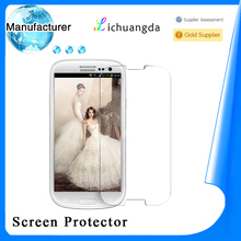 manufacturer tempered glass screen protector for samsung galaxy young s3610 screen protector glass accept paypal ( OEM / ODM )