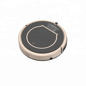 WiFi smartphone app control water tank wet and dry mopping vacuum auto robot vaccum cleaner