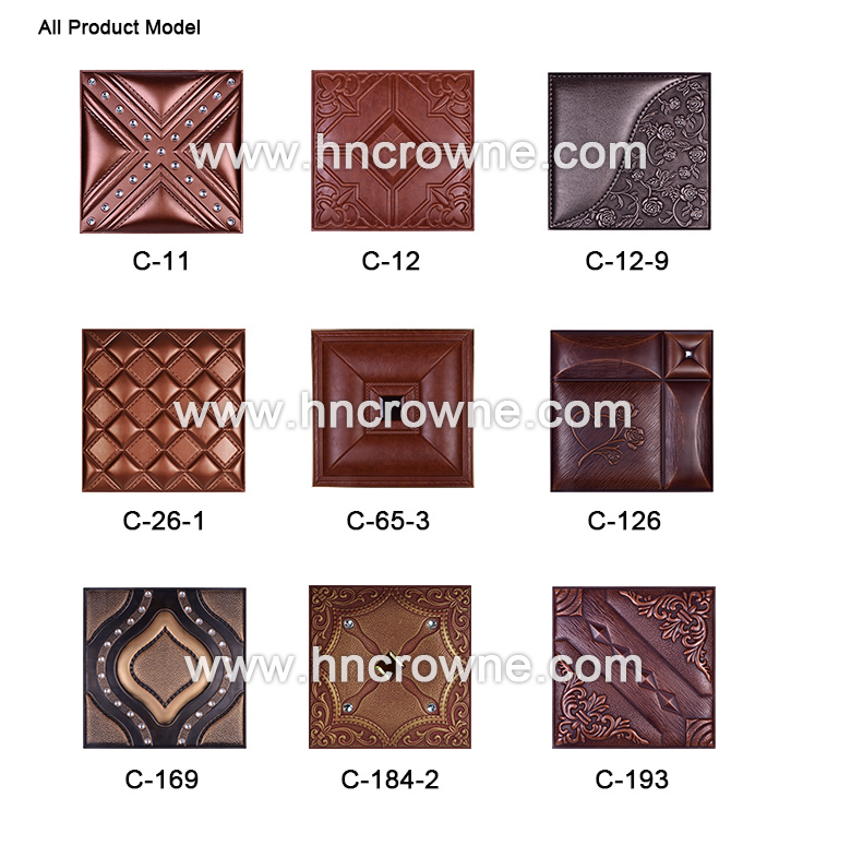 3d Faux Leather Panels/3d Leather Wall Cladding/3d Wall Panels Tv ...