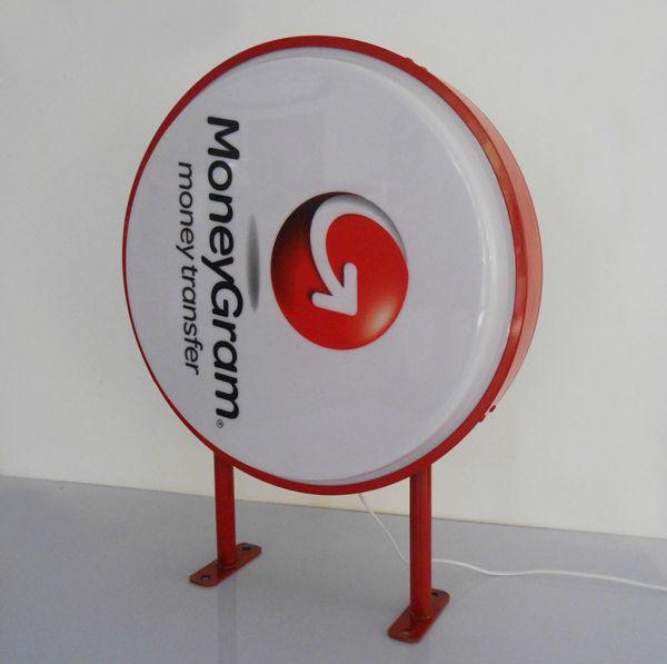 Logo Singage Vacuum Formed Light Box Wall Hanging Outdoor ...