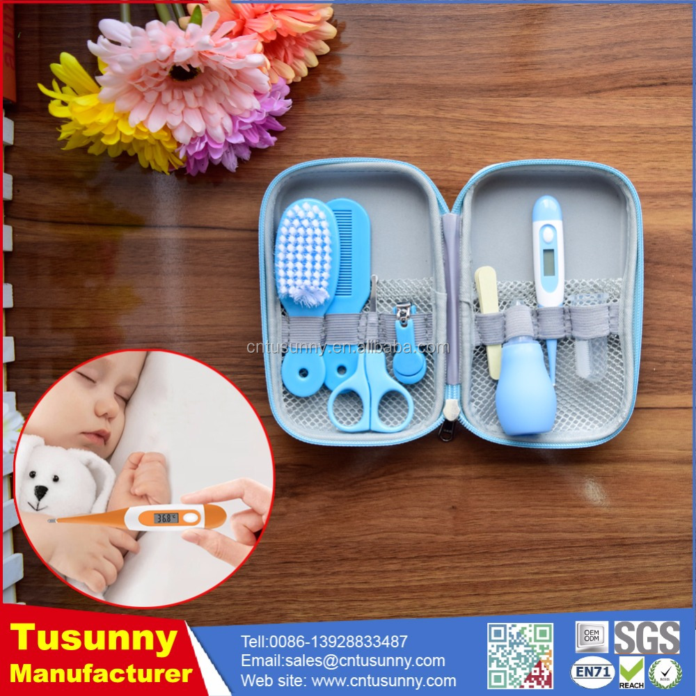 8Pcs/set Newborn Baby Grooming Nail Hair Nose