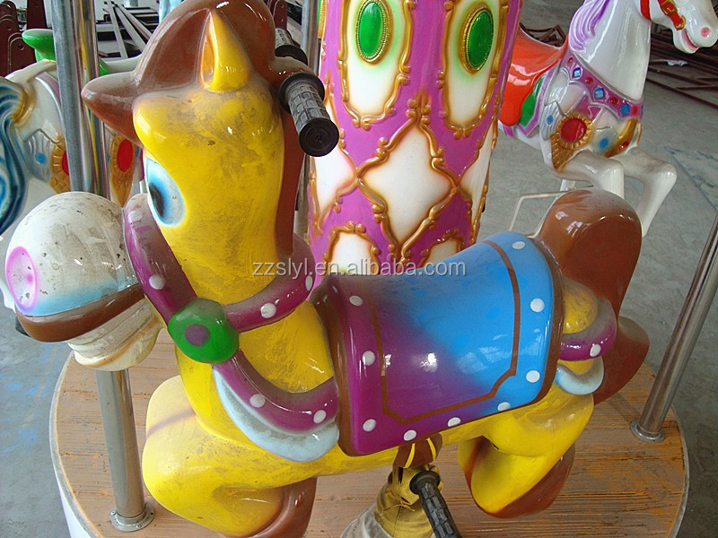 Different Design Horse Ride For Kiddie Merry Go Round Ocean Carousel Production Strong From