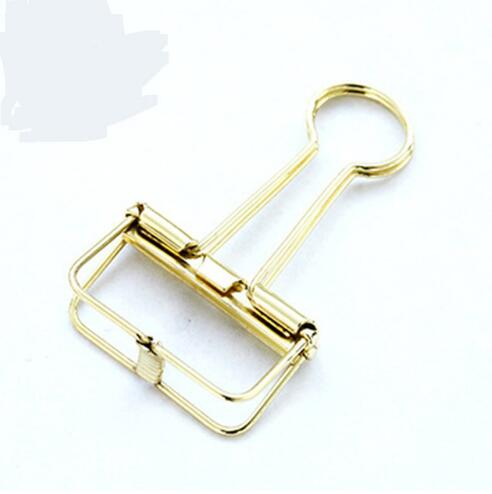 Small Size Metal Binder <strong>Clips</strong> Small Craft Photo Pegs office bookmarks Stationery 8 colors 19x40mm